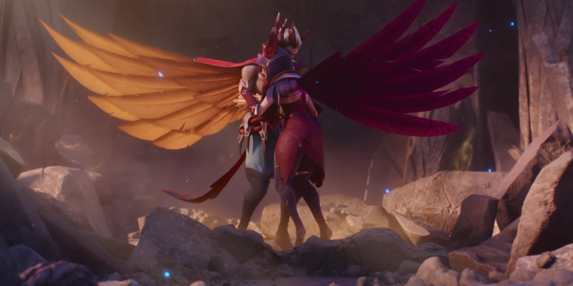 League of Legends: Fan Make Skin World Championship 2018 for Xayah 1