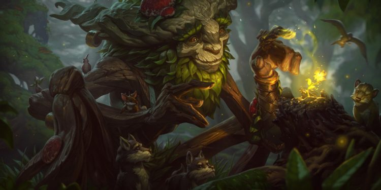 League of Legends: Why Riot Games release a new skin for Ivern too bad, the Player has a talent of design Skin 100 times more beautiful . 1