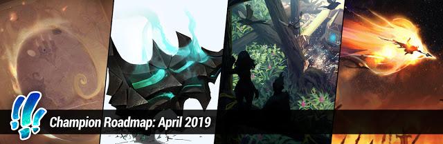 CHAMPION ROADMAP: APRIL 2019 1