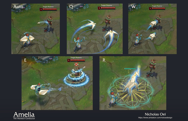 League of Legends Fan Made: New Champions created with Hextech and Paper technology 4