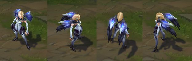 League of Legends Fun: With IG Kai'Sa, the champions skins are all League of Legends' new gunners 2