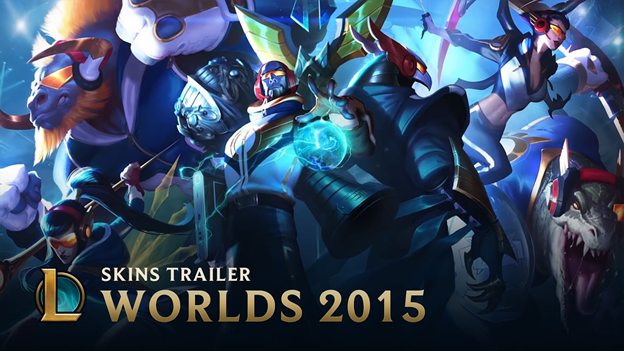 League of Legends Fun: With IG Kai'Sa, the champions skins are all League of Legends' new gunners 3