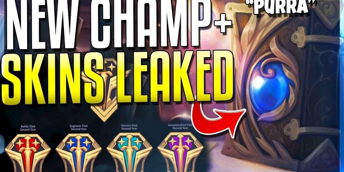 New Champ Purra - New Skin Leak 1