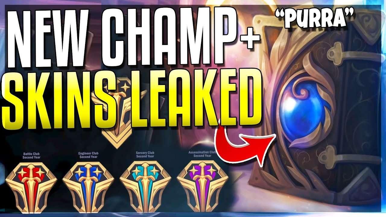 New Champ Purra – New Skin Leak – Not a Gamer
