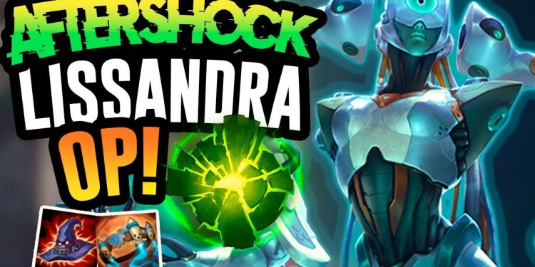 """Riot Games will modify Aftershock Pearl - Farewell """"Lissandra Tank"""" 1"""