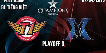 LCK Playoff 2019: SKT 3> 0 KZ - Excellent competition, Faker and his allies kill Kingzone 6