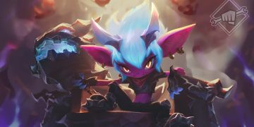 League of Legends: New Skin Little Demon Tristana 4