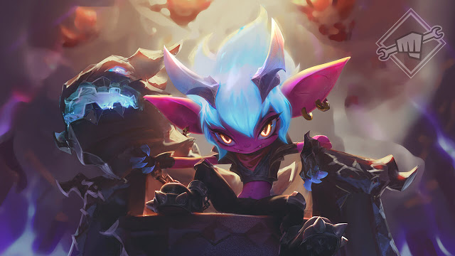 League of Legends: New Skin Little Demon Tristana 1