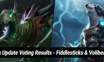 League of Legends: Riot Games publishes voting results, Volibear and Fiddlesticks are the next two generals to remake. 10