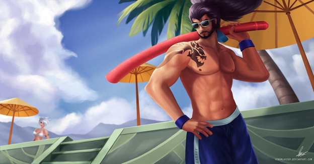 League of Legends Skin: Which champions deserve to have the Skin Pool Party in this summer? 9