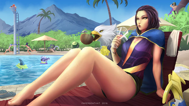 League of Legends Skin: Which champions deserve to have the Skin Pool Party in this summer? 10