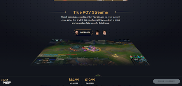 League of Legends: Riot launches a Pro View - Increasing the experience of watching Esports 3