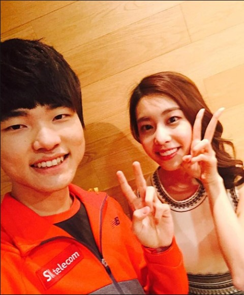 League of Legends Private Life: The girl who made Faker secretly remember was openly dating the Korean movie star 4