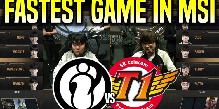 League of Legends: MSI 2019 - The Korean community is extremely angry at SKT's failure, SKT is a Team useless bunch 1