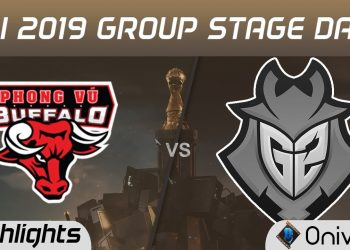 League of Legends: MSI 2019 - Crushing G2, PVB has the first victory at MSI after 3 days of competition 3