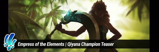 League of Legends: Empress Of The Elements - Qiyana Champion Teaser 1