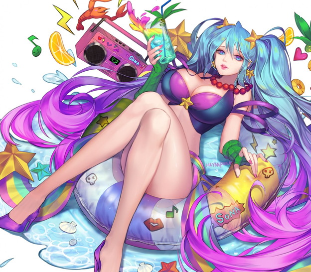 League of Legends: Rankings boobs in LoL – Not a Gamer