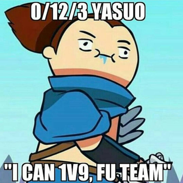 League of Legends: The interesting fact surrounding Yasuo players is revealed by Riot 1