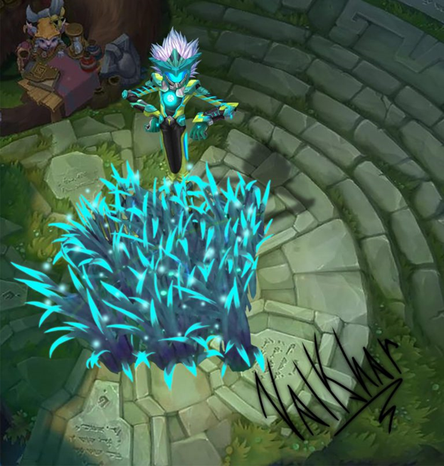 League of Legends: Fans continue to show their creativity when creating the Super Galaxy Ivern 2