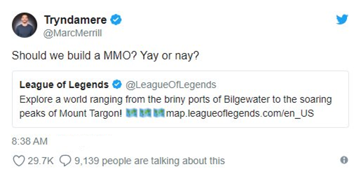 League of Legends: Riot Games is developing a new MMORPG Game project even bigger than LoL? 3