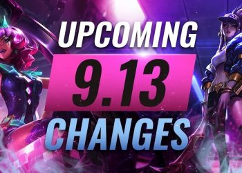 League of Legends: Summary of 5 changes appears in the League of Legends Patch 9.13 that you should know 4