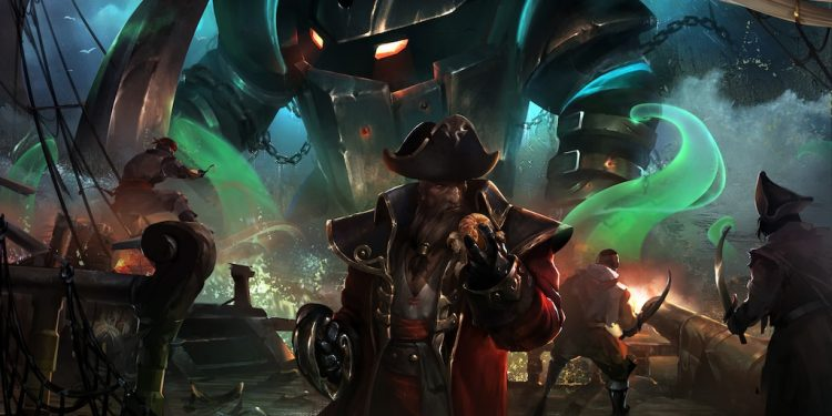 League of Legends: The historical truth is scary behind Gangplank's W skill ??? 1
