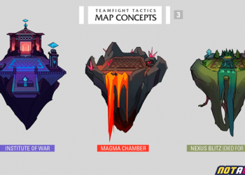 Teamfight Tactics: Three new map models are designed based on inspiration from the League of Legends Universe 7