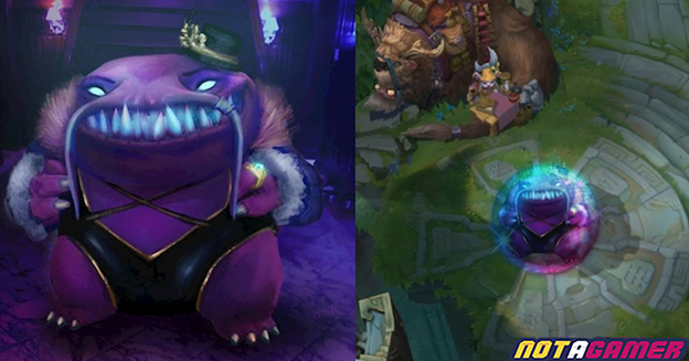 League of Legends: KDA Tahm Kench Skin officially appeared 1