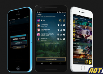 League of Legends: The application allows players to find matches on the Client by phone 10