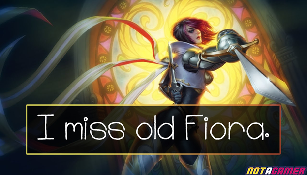 League of Legends: Reworking Fiora, Riot Games' biggest controversial mistake? 1