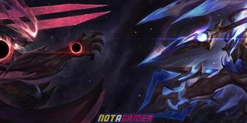 League of Legends: Versus Skin 2020 - Abyssal Star Aatrox vs Cosmic Emperor Pantheon 1