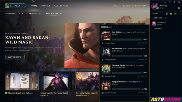 League of Legends: After 2 years, Riot Games is finally about to launch a new mission system to help gamers earn rewards 2