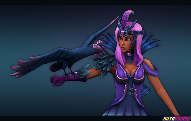 League of Legends: Fanart of the ADC Skin designed by fans 2