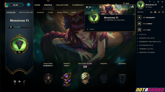 League of Legends: Riot Games suddenly reveals the player account hiding feature 4