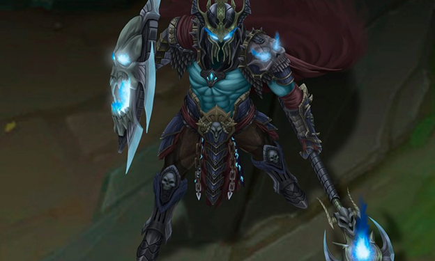 League of Legends: Fanart Skin Gravelord Pantheon is beautiful in every detail 1