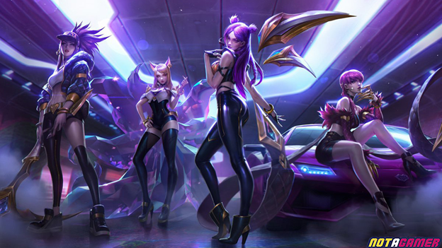 """League of Legends: Riot Games registers copyright for the new band entitled """"True Damage"""" 1"""