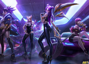 """League of Legends: Riot Games registers copyright for the new band entitled """"True Damage"""" 10"""