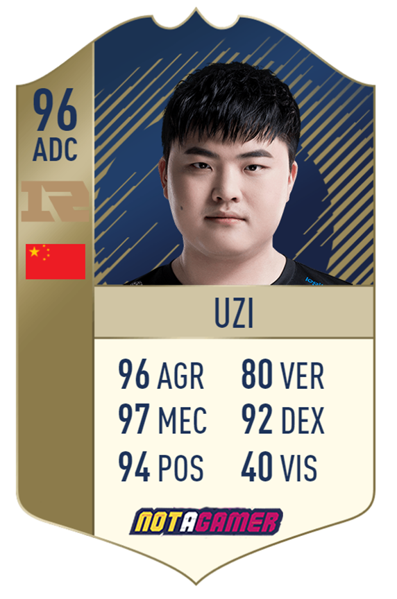League of Legends: Professional gamers are designed by players to be the Fifa Ultimate Team card 10