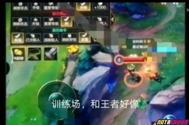 League of Legends: Continuing to reveal 5p Test Garen long video with lots of pictures of LoL Mobile 5