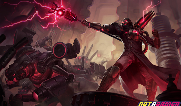 League of Legends: The top 8 Hextech weapons have terrible power in League of Legends 4
