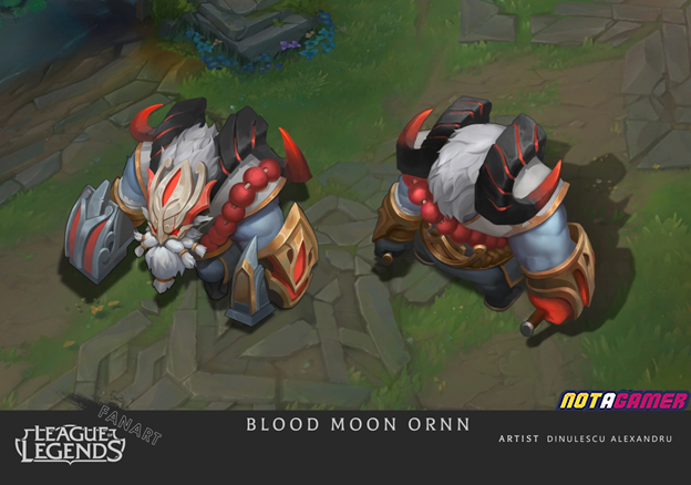 League of Legends: Riot Games must admire Fan's creative abilities with Ornn Blood Moon skin 2