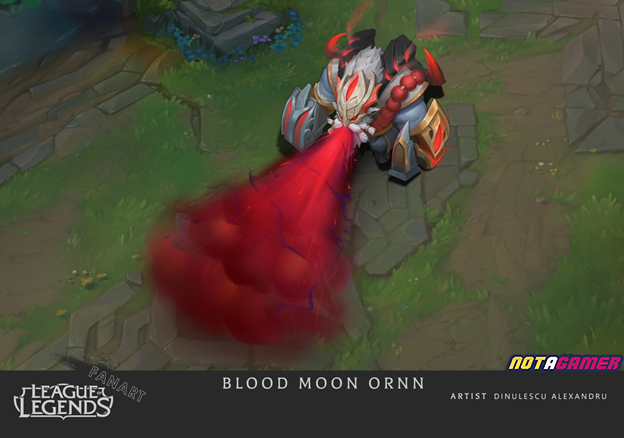 League of Legends: Riot Games must admire Fan's creative abilities with Ornn Blood Moon skin 3