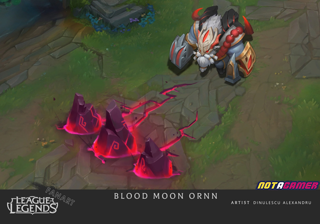 League of Legends: Riot Games must admire Fan's creative abilities with Ornn Blood Moon skin 4