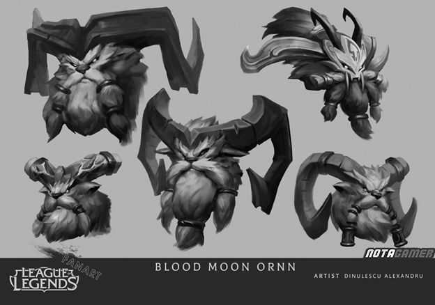 League of Legends: Riot Games must admire Fan's creative abilities with Ornn Blood Moon skin 8