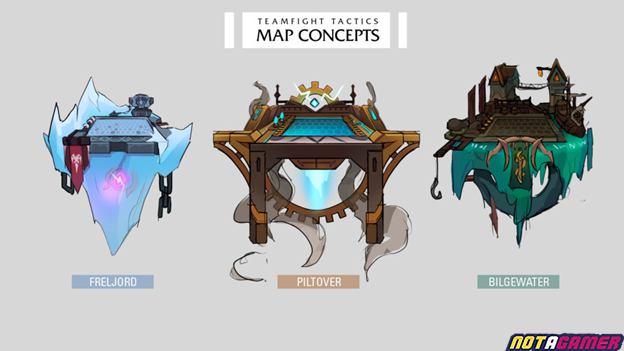 Teamfight Tactics: Game community designs a series of maps and Little Legends for Teamfight Tactics 2