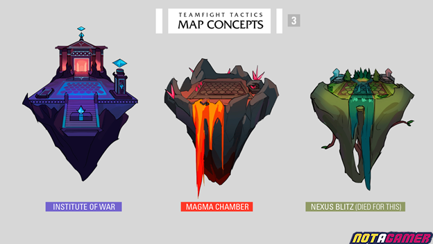 Teamfight Tactics: Game community designs a series of maps and Little Legends for Teamfight Tactics 5