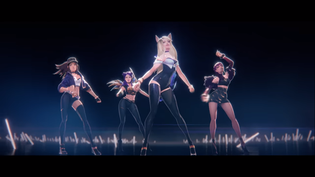 League of Legends: KDA is about to release two new songs celebrating 10-year-old League of Legends 1