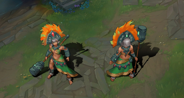 League Of Legends Famade New Champions Toh Na Goddess Of