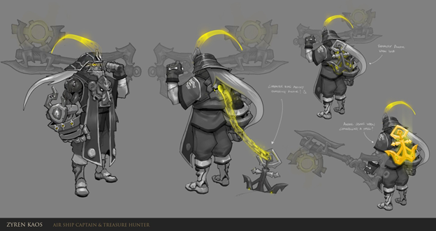 League of Legends: Fanmade New Champion Zyren Kaos - Bounty Hunter 3