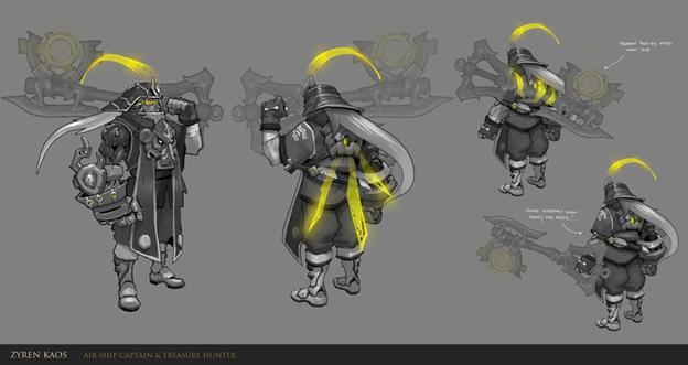 League of Legends: Fanmade New Champion Zyren Kaos - Bounty Hunter 4